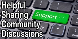 Ask Questions in our Helpful Sharing Community Forum