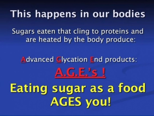 "Consuming Refined Sugar ""AGES"" Your Body"