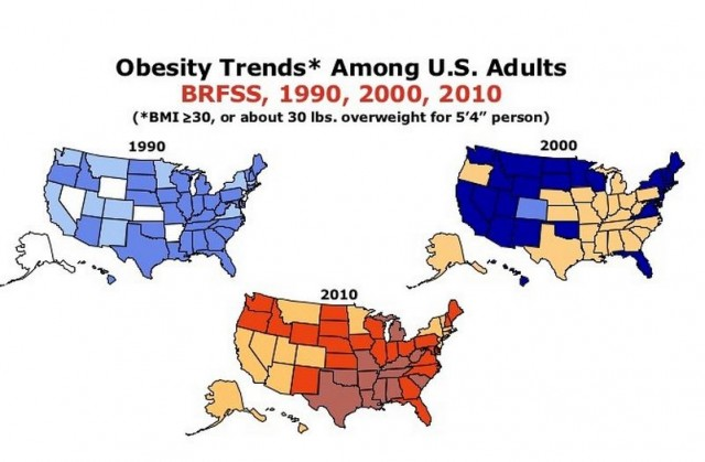 Obesity Trends Slideshow to Share With Friends