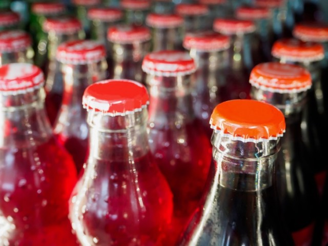 Sugary Soft Drink Bottles