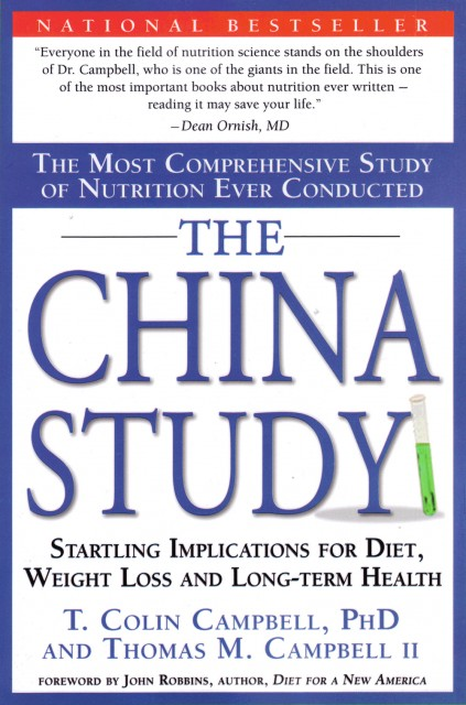 The China Study is Highly Recommended Reading
