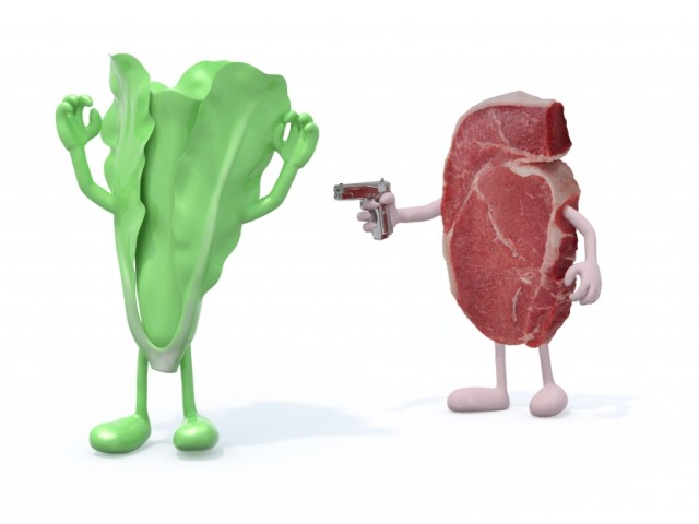Which has More Protein? Steak or Kale?