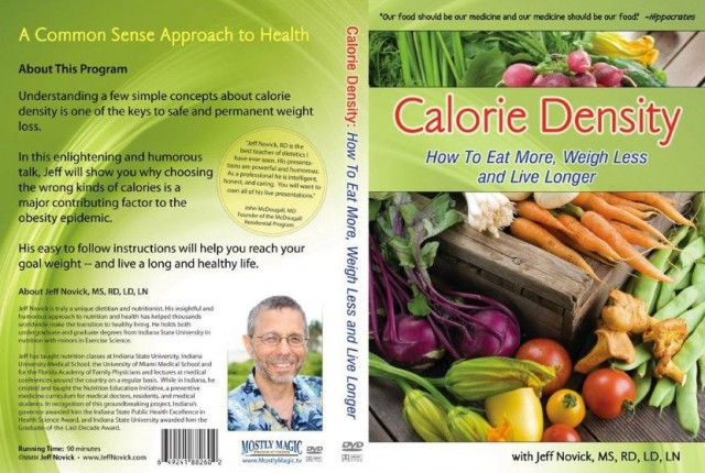 Calorie Density DVD Cover