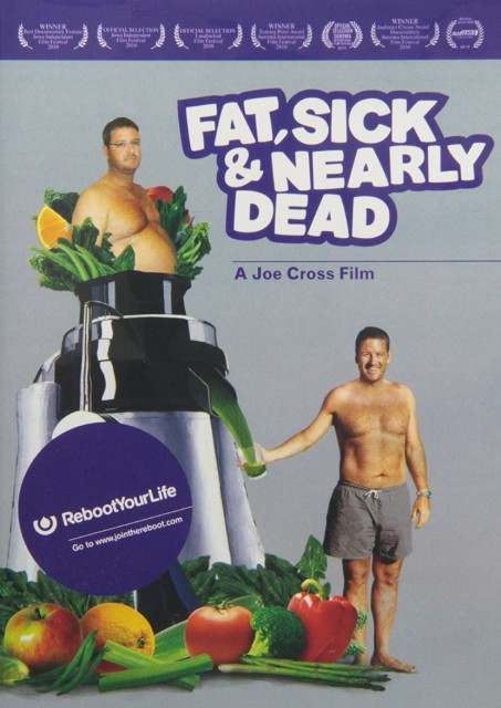 Fat Sick and Nearly Dead DVD Cover